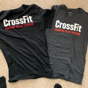 Reebok CrossFit L shirts